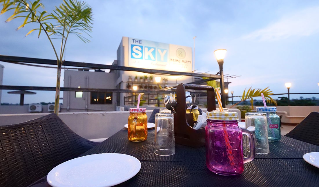 SKY - The Rooftop Restaurant
