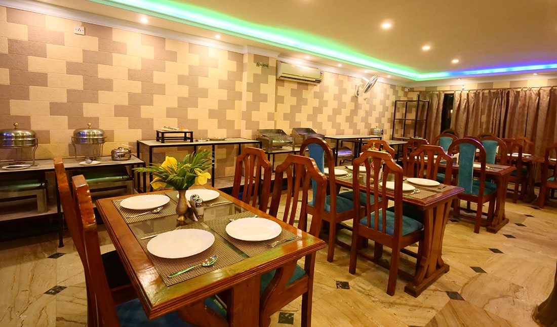 Fine Dining in Prime Trimurti Room